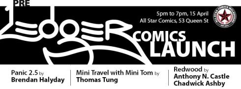 Pre-Ledger Comics Launch banner